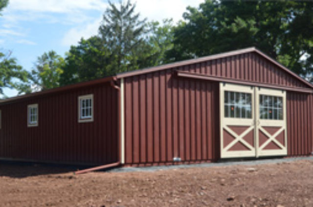 Custom Trailside Barn – Belle Meade, NJ