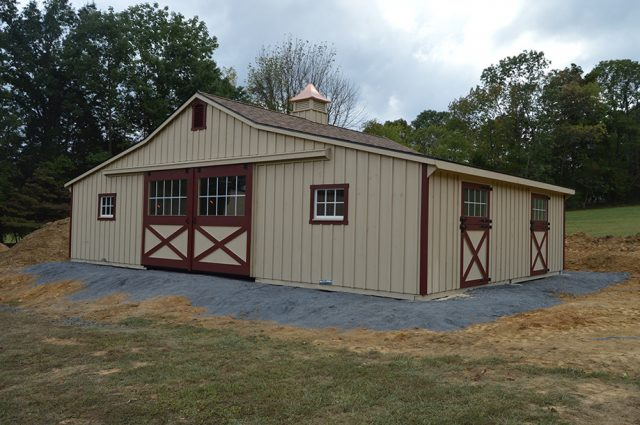 Custom Trailside Barn – Quakertown, PA