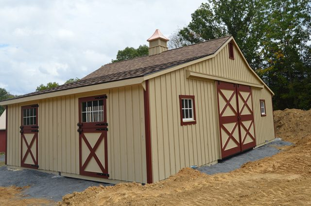 Trailside Barn with Cupola PA