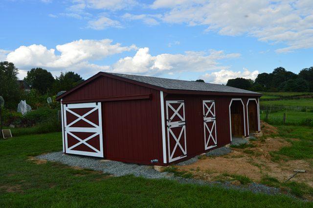 Virginia barns