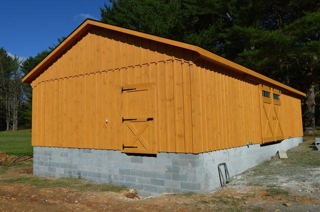 Custom garage glen arm md j n structures for Garage md frere