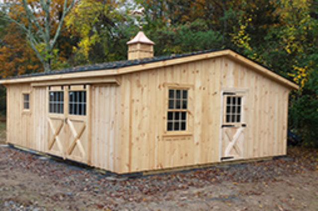 Double Wide Modular Barn – Norton, MA