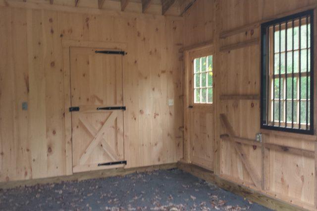 Trailside Barn Interior