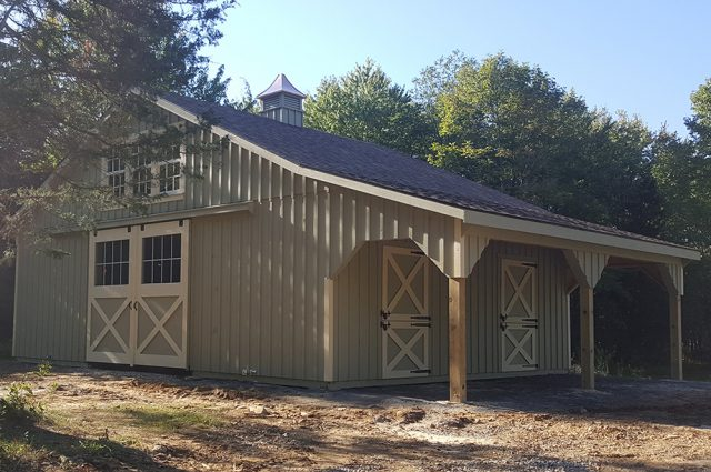 custom painted barns