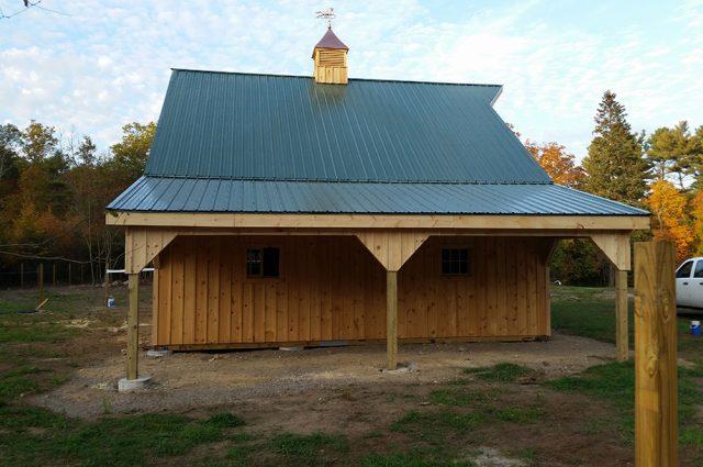 MA styled barn