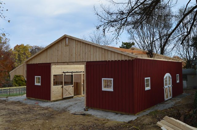 Roofing Custom Barn