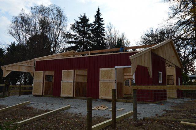 Custom Barn Construction