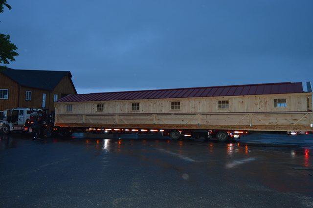 Commercial Horse Barn