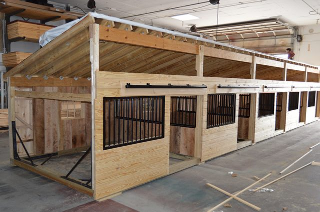 Large Horse Stalls