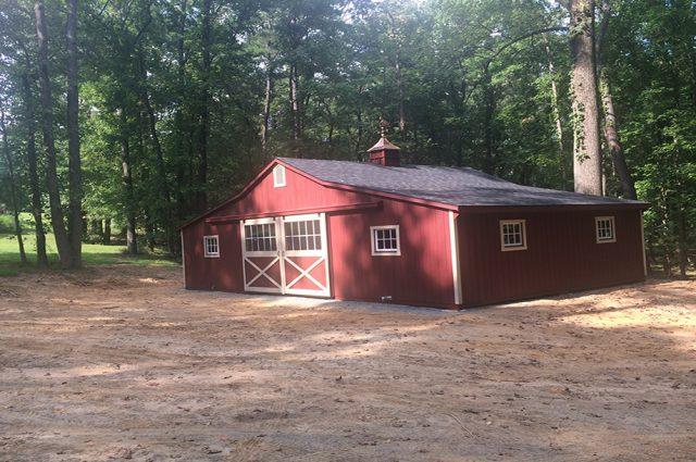 Custom Amish Structure