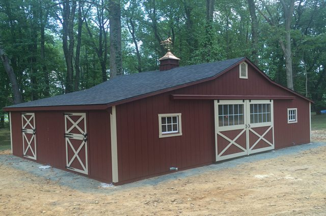 Modular Trailside Barn