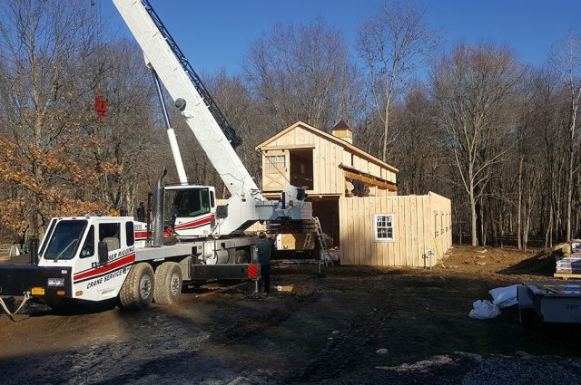 Horse Barn Construction