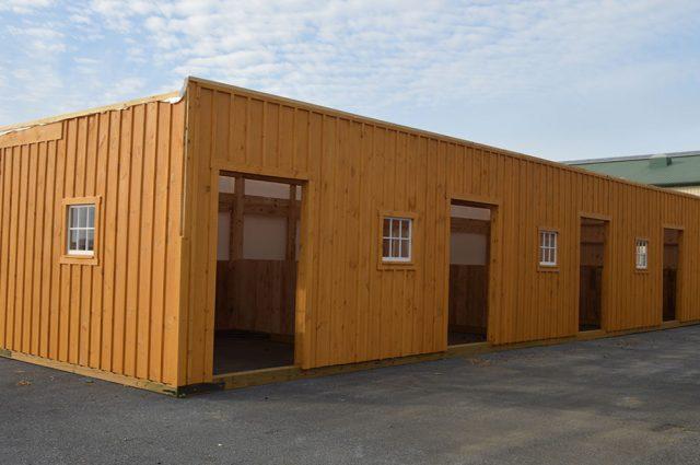 Barn Horse Stalls