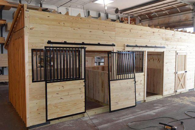 Custom Horse Barns