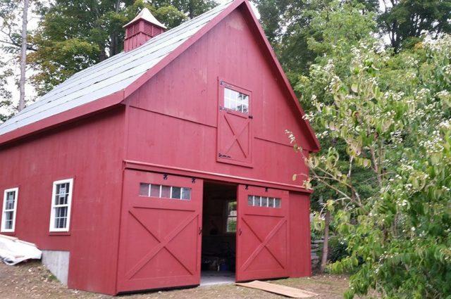Custom Prefab Garage – Taftsville, VT