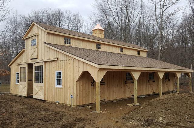 Modular Horse Barn – North Salem, NY