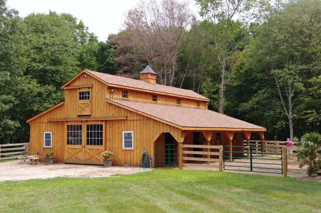 Modular Horse Barn – North Salem, NY