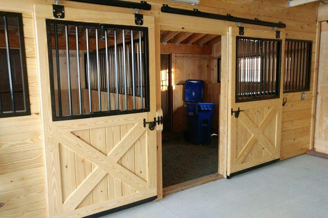 Custom Horse Stalls