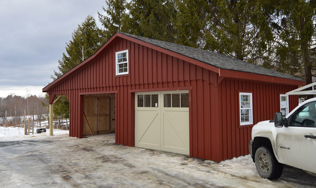 built amish s of one de collection prices ny car md va garage garages choices prefab nj wv kits pa
