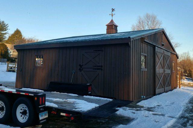 Custom Horse Barns in CT