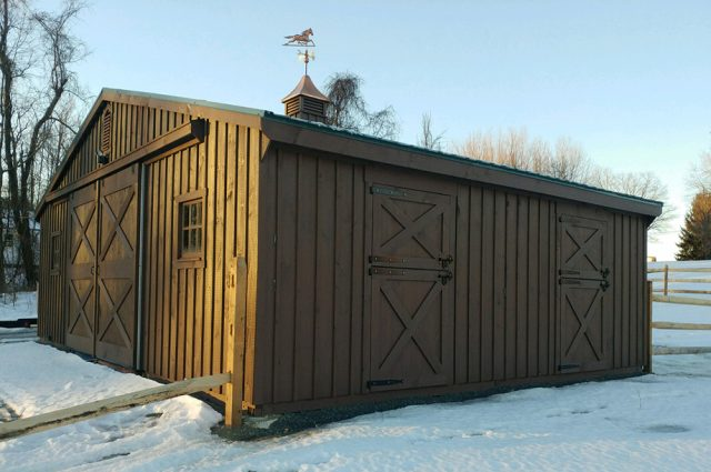 Horse Barn with Stalls CT