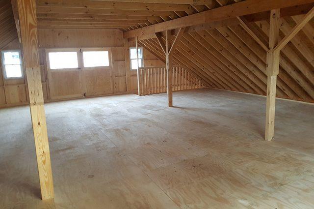 Loft in Garage