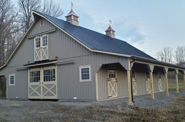 Custom Modular Barn in Johnstown, PA