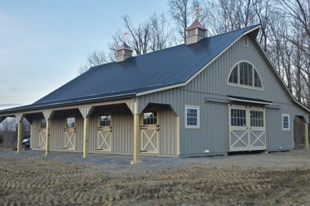 Horse Barn Built in Johnstown, PA