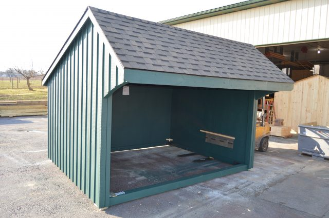 Green Run In Shed