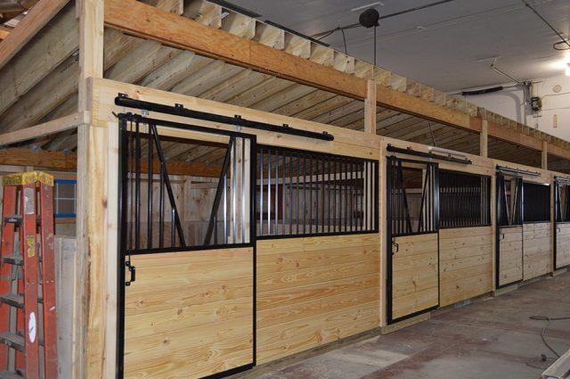12x12 Horse Stalls in Saratoga, NY