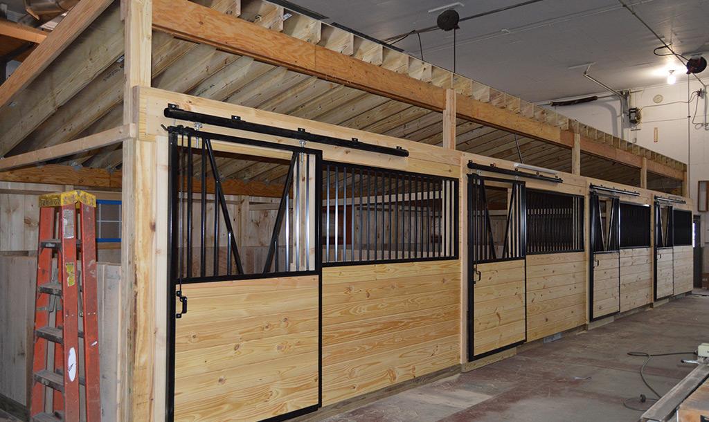 12x12 Horse Stalls
