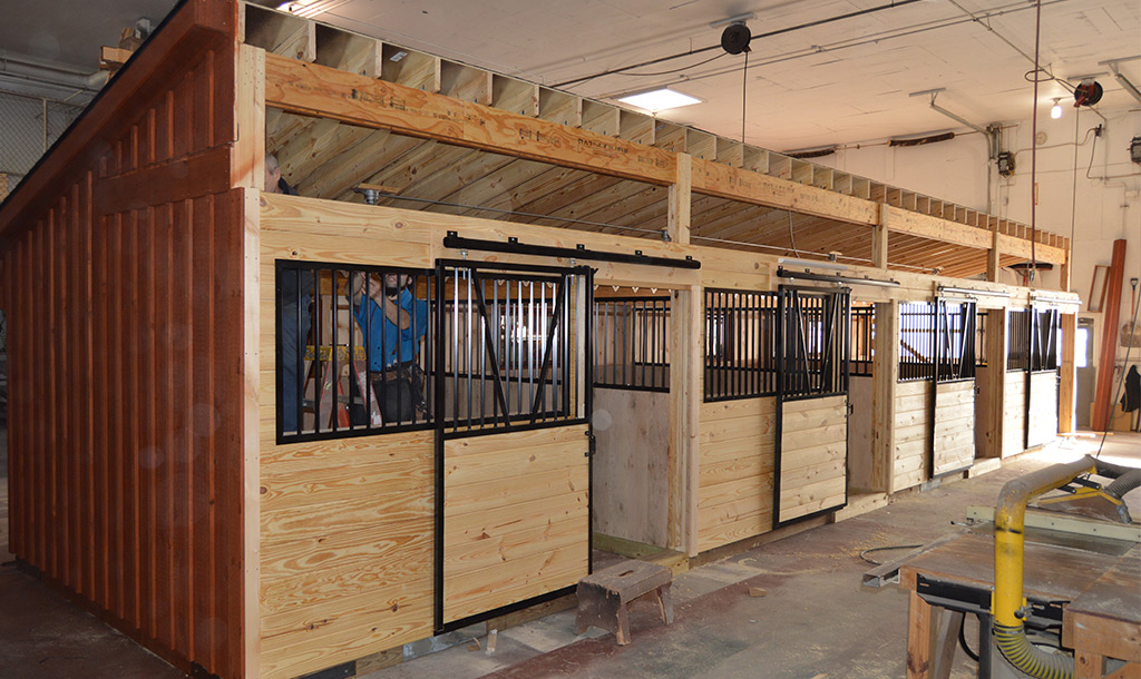 12x12 Horse Stall