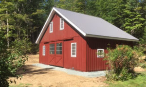 Modular Barn in High Country Style