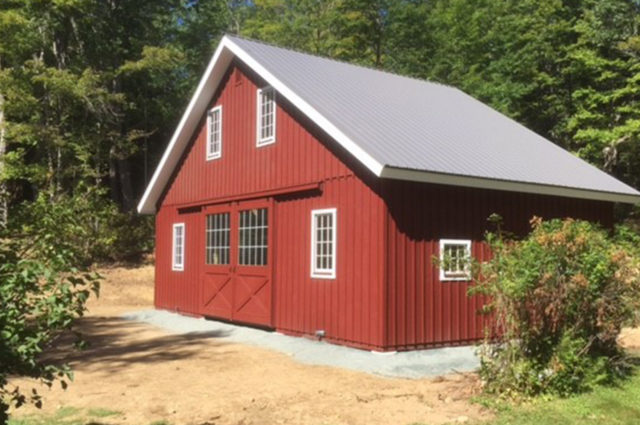 Modular Barn – Shelburne, NH