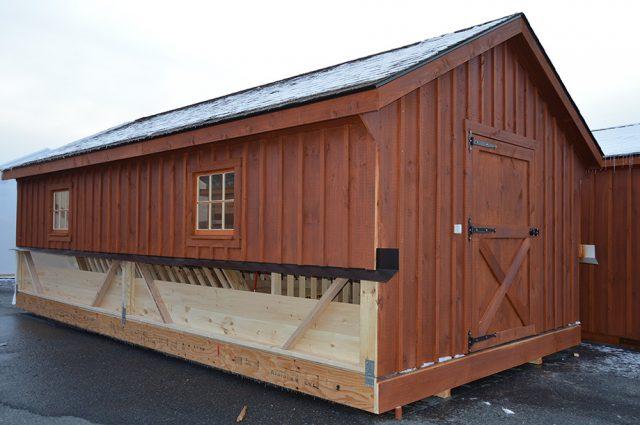 Modular Barn in Saratoga, NY