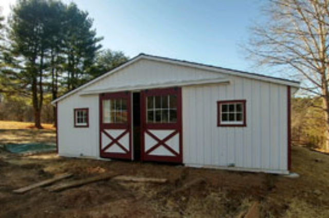 Trailside Modular Barn – Upperco, MD