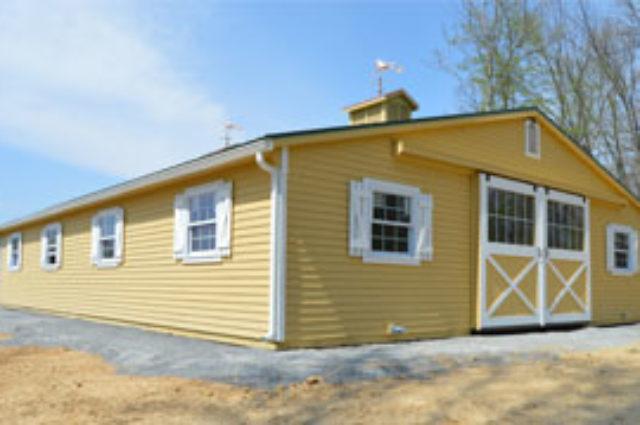 Modular Barn – Middleburg, VA