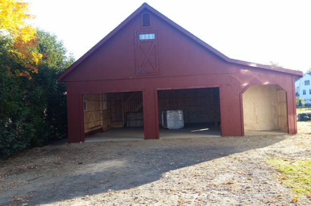 Prefab Garage – Waterbury Center, VT