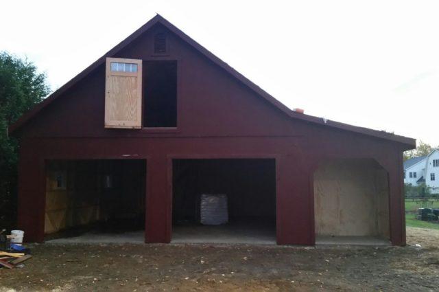 Prefab Garage with Loft