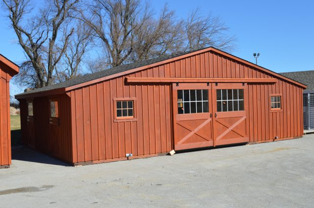 Completed Trailside Barn