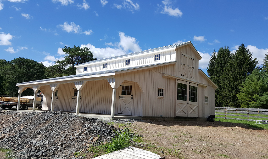 Completed NY Barn Project