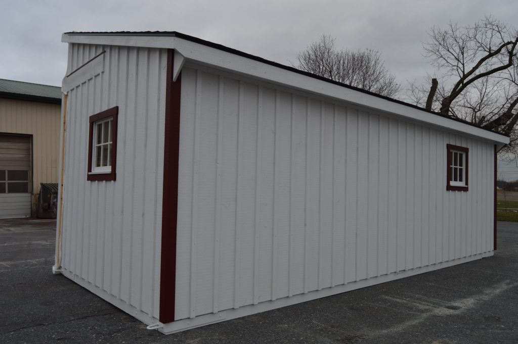 Trailside modular barn upperco md j n structures for Red barn prefab