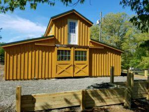 32'x40' modular barn