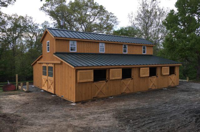 Modular Barn Stanardsville Va J Amp N Structures