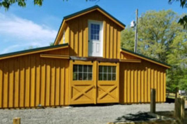 Modular Barn – Stanardsville, VA