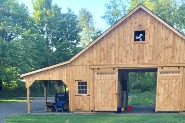 30'x24' High Country Modular Barn