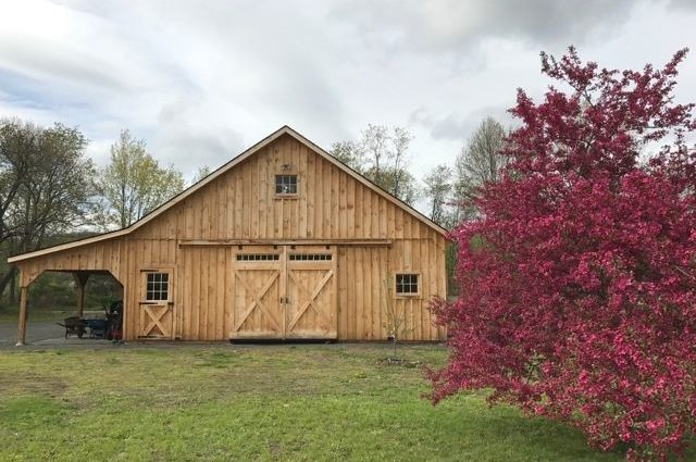High Country Barn Style in MA
