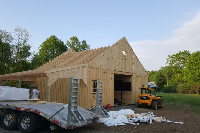 Barn In Progress Leverett, MA