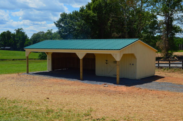 Shed Row Combo Barn – Marshall, VA