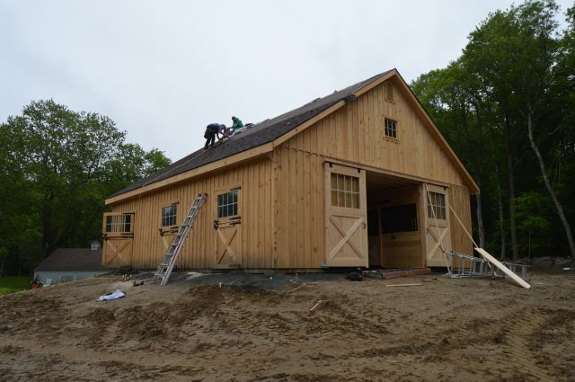 Modular High Country Barn in Killingworth, CT